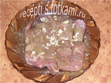 Рецепт буженины в фольге с пошаговый