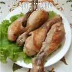 Куриные ножки в сметане запеченные в духовке