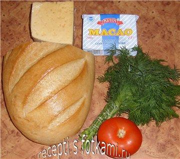 Состав бутерброда