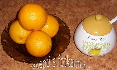 Состав апельсинового компота