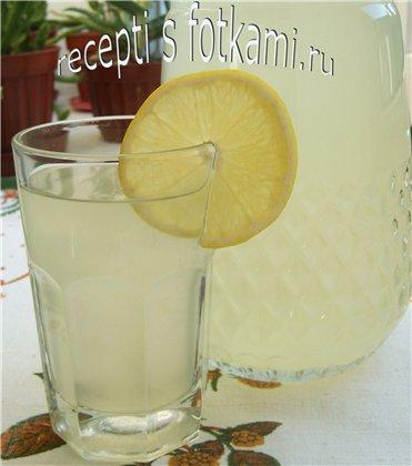 Как сделать лимонад в домашних условиях из лимонов