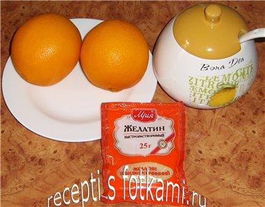Ингредиенты для желе