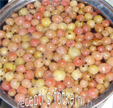 Ревенный компот с ванилью, пошаговый рецепт с фото