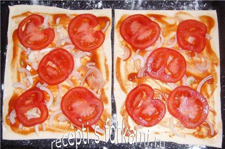 "Пицца на курином ""тесте"", пошаговый рецепт с фото"