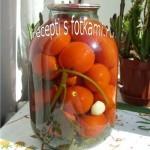 Маринованные помидоры на зиму без стерилизации