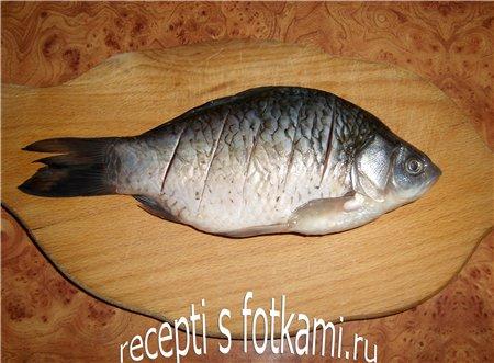 Делаем нарезы на рыбе