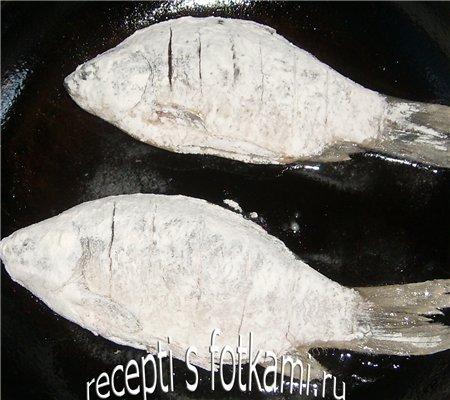 Жарим карасиков