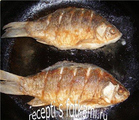 Жарим рыбу с другой стороны